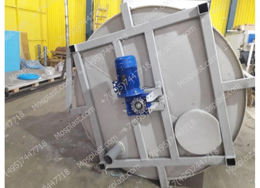 Химические реакторы или ёмкости с мешалками.