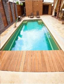 Пластиковый бассейн 3,5*2,5*1,5м (д*ш*г) т-8 мм.