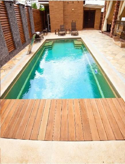 Пластиковый бассейн 4,5*2,0*1,5м (д*ш*г) т-8 мм.