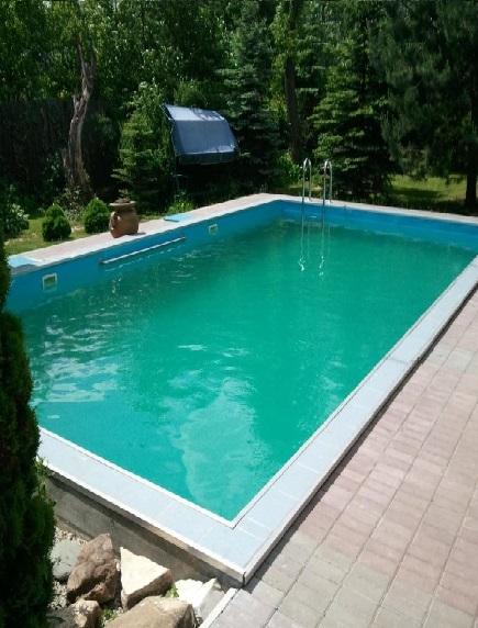 Пластиковый бассейн 2,5*2,5*1,5м (д*ш*г) т-8 мм.