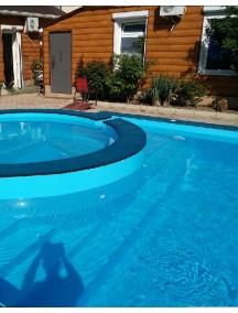 Пластиковый бассейн 3,5*2,0*1,5м (д*ш*г) т-8 мм.