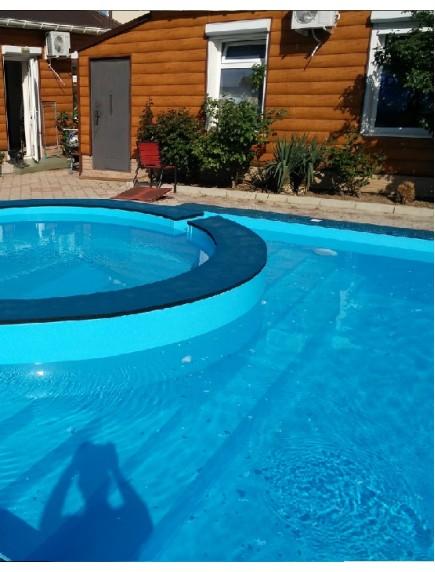Пластиковый бассейн 1,0*2,5*1,5м (д*ш*г) т-8 мм.