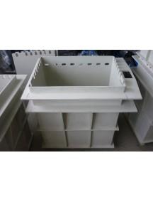 Гальваническая ванна 1000*1000*1100 т.- 8 мм