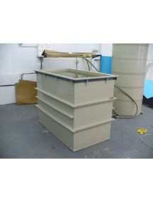 Гальваническая ванна 1500*1000*1100 т.- 8 мм