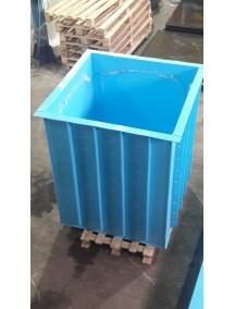 Прямоугольная купель для бани и дома 1,1*1,0*1,5 м. 8 мм толщ